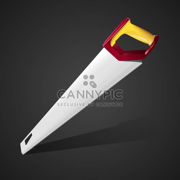 Hand saw vector Illustration - Free vector #128199