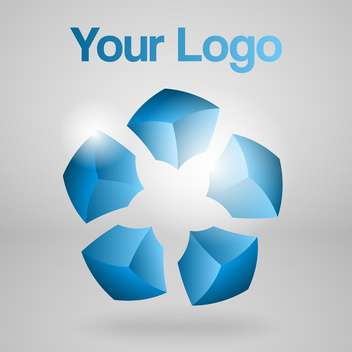abstract vector logo background - vector #129049 gratis