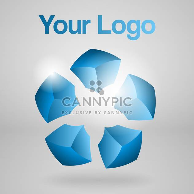 abstract vector logo background - Free vector #129049