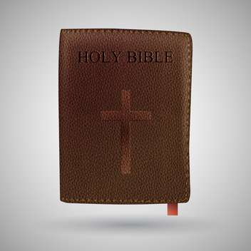 vector holy bible book - бесплатный vector #129219