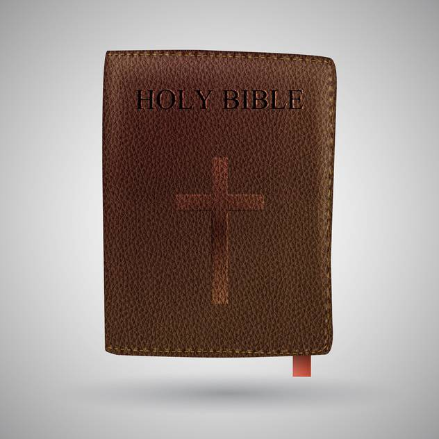 vector holy bible book - vector #129219 gratis