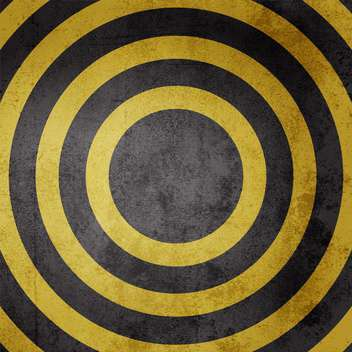 Black and yellow grunge circles background - Free vector #129699