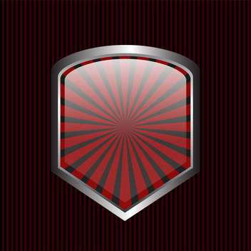 security shield symbol icon - Free vector #130319