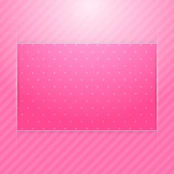 Vector pink card background - vector #130369 gratis