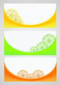 Citrus background vector illustration - vector gratuit #130999