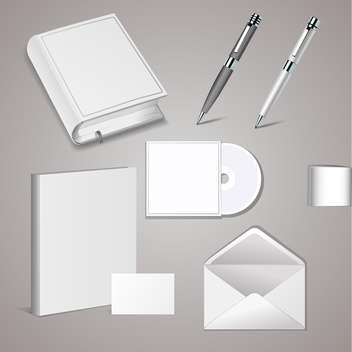 Set of templates for corporate identity - vector gratuit #131139