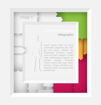 Vector infographic elements illustrations - Kostenloses vector #131839