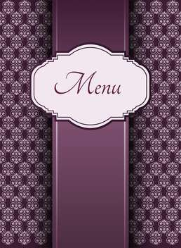 vintage graphic menu background - vector gratuit #132539