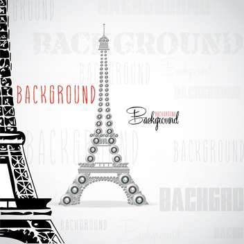 eiffel tower made of webcams - Free vector #133099