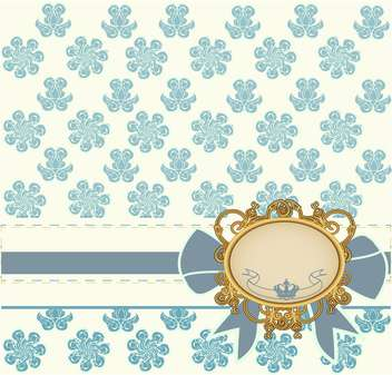 vintage styled frame background - Kostenloses vector #133569
