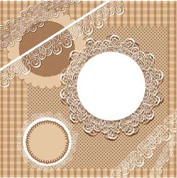 vector set of vintage frames - vector #133759 gratis