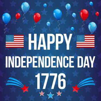 american independence day background - vector gratuit #134049
