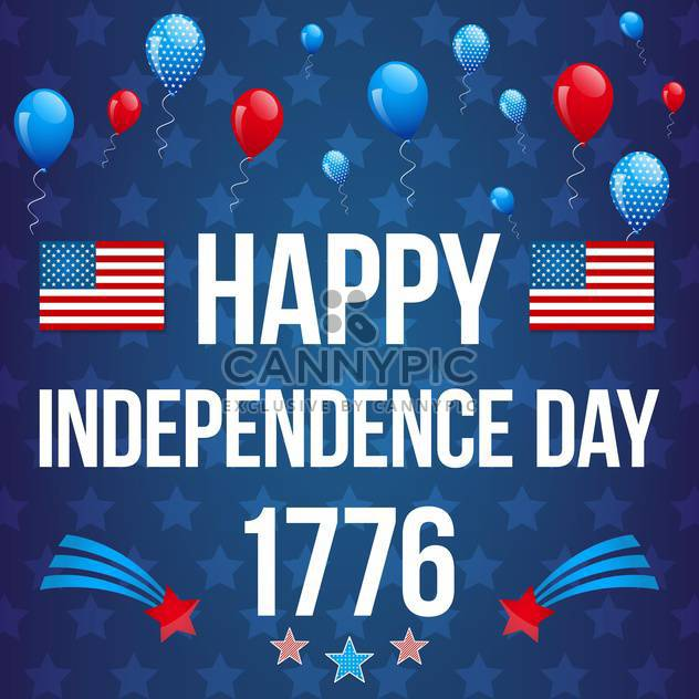 american independence day background - Free vector #134049