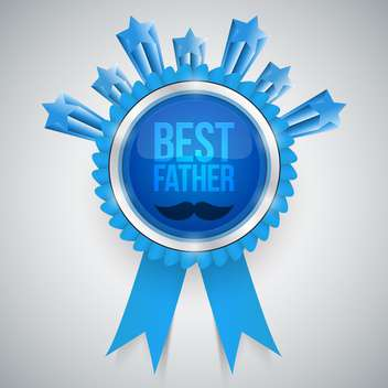 best father award background - vector gratuit #134129