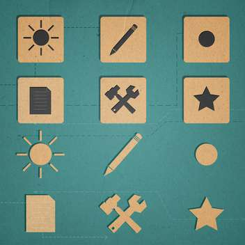 web icons set internet collection - vector #134309 gratis