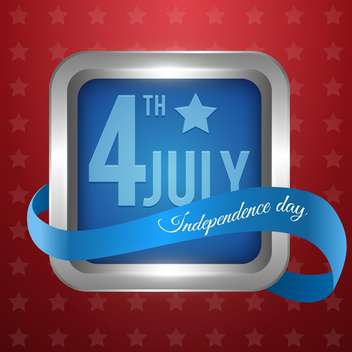 american independence day background - vector gratuit #134429