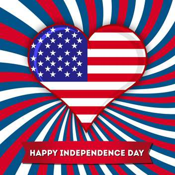 independence day holiday background - vector gratuit #134499