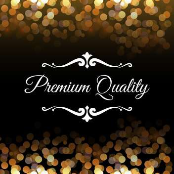 premium quality abstract background - vector gratuit #134569