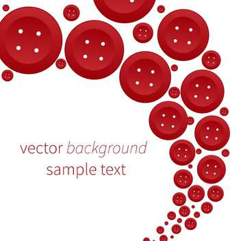 vector abstract background with red buttons - Free vector #134779
