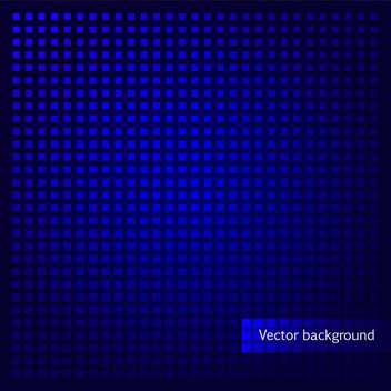 vector blue background with abstract squares - vector #134849 gratis