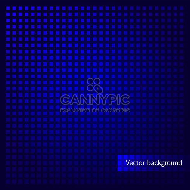 vector blue background with abstract squares - Free vector #134849