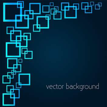vector background with squares - vector gratuit #134879