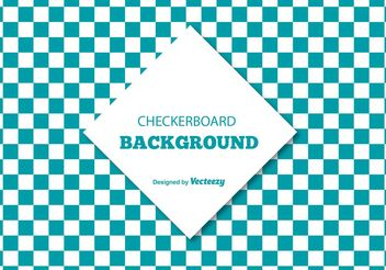 Checkerboard Style Background Illustration - vector gratuit #138829