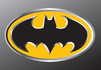 Batman Emblem - Free vector #139199