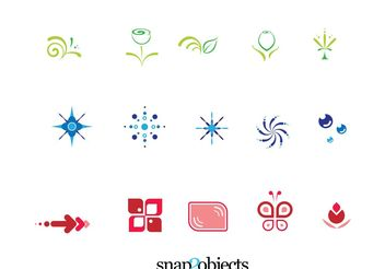 Free Vector Icons Design Elements Pack 01 - Kostenloses vector #139249