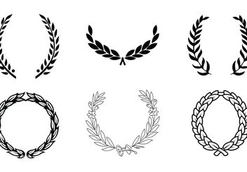 Vector Wreaths - vector gratuit #139259