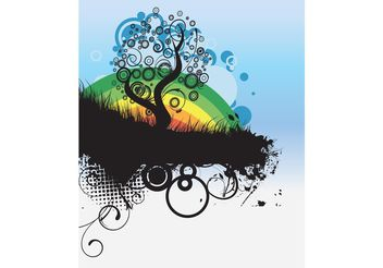 Vector abstract illustration - Free vector #139479
