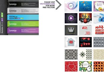 Web Element for Best Content - vector #139779 gratis