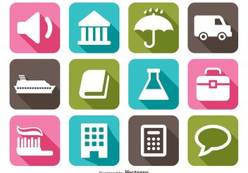 Miscellaneous Icon Set - vector gratuit #139949