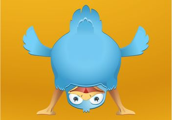 Happy Bird - vector gratuit #140229