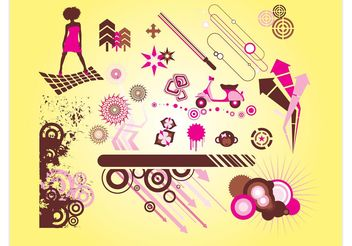 Cool Vector Graphics - vector gratuit #140409