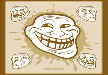 Troll Graphics - vector gratuit #140609