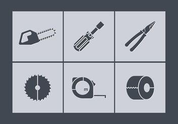 Free Vector Tools Icons - vector gratuit #141029