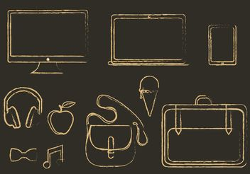 Free Vector Miscellaneous Icons - Free vector #141039