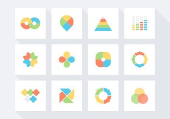 Free Infographic Vector Icon Set - Free vector #141279