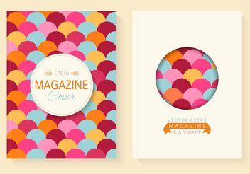 Free Retro Magazine Vector Covers - vector gratuit #141659