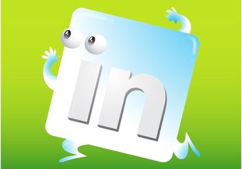 LinkedIn Icon - Free vector #141689