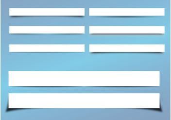 Blank Labels - Free vector #141769