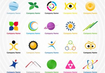 Creative Logo Pack - vector #142019 gratis