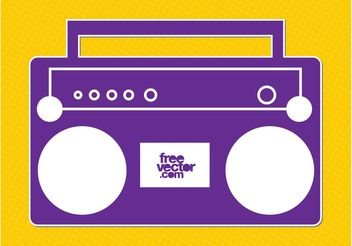 Radio Icon - Free vector #142339