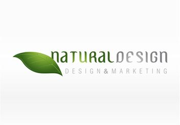Natural Leaf Logo - vector gratuit #142489