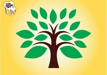 Tree Logo Design - Free vector #142529