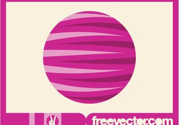 Round Logo Graphics - vector #142659 gratis