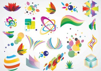Logo Design Elements - vector gratuit #142759