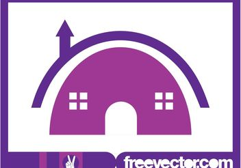 House Logo Template - Free vector #142799