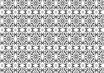 Antique Pattern - vector gratuit #142889